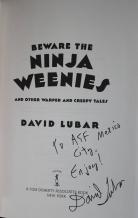 ninja weenies inside