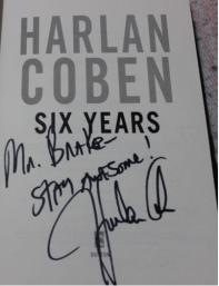 Harlan Coben Autographed