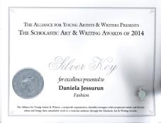 daniela certificate