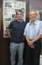 Mr Shimizu and me