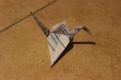 Crane on the Sidewalk
